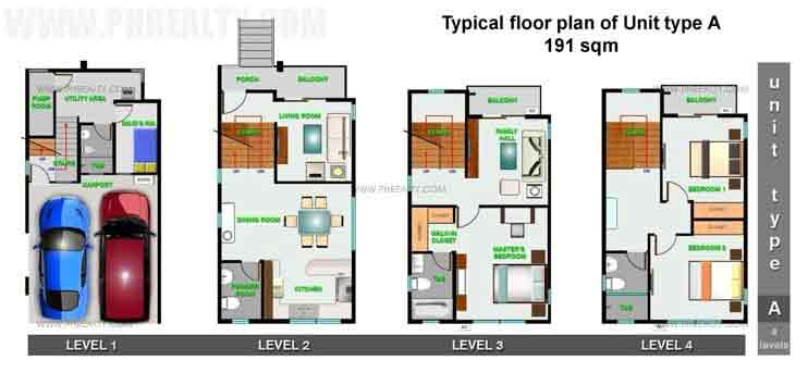 Unit Type A Floor Plan