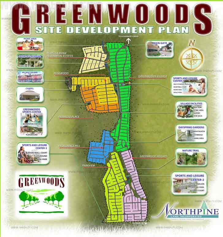 Greenwoods Site Development Plan
