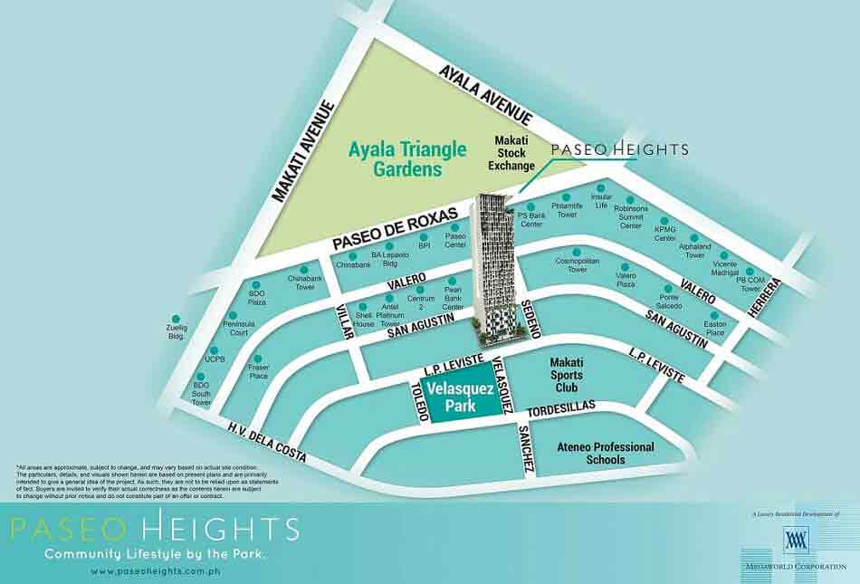 Paseo Heights Location