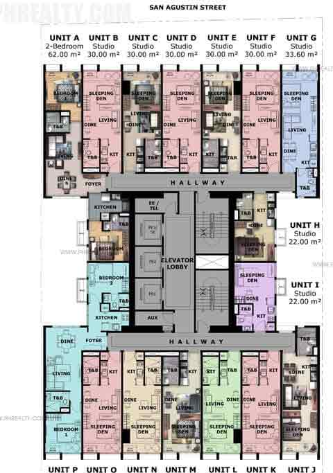 10th Floor Plan