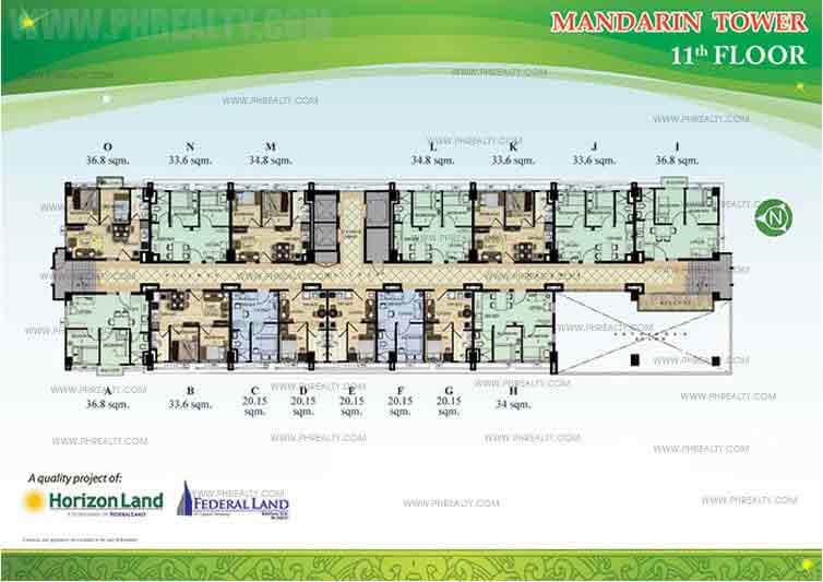 11th Floor Plan