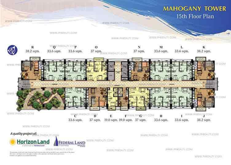 15th Floor Plan