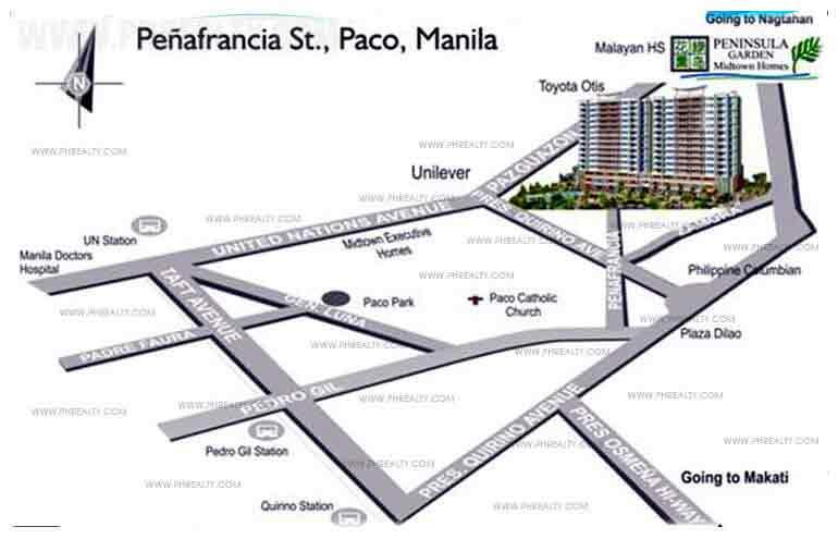 Peninsula Garden Midtown Home Location