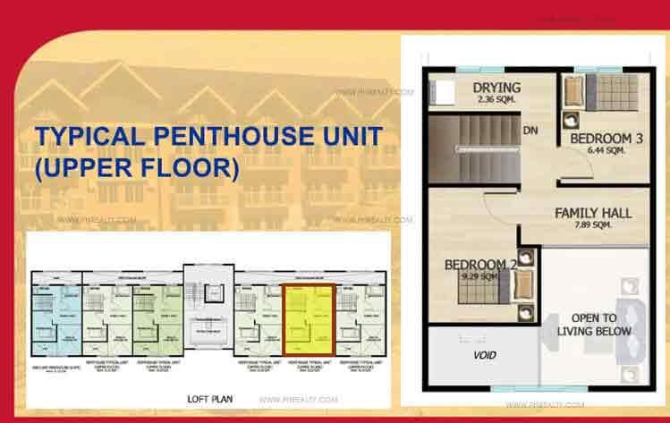 Penthouse (Upper Floor)