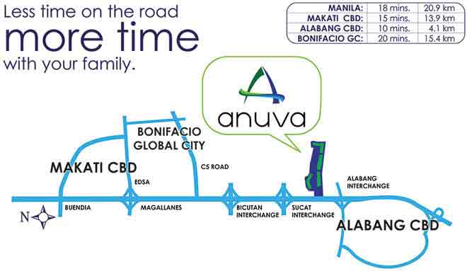 Anuva Residences Location