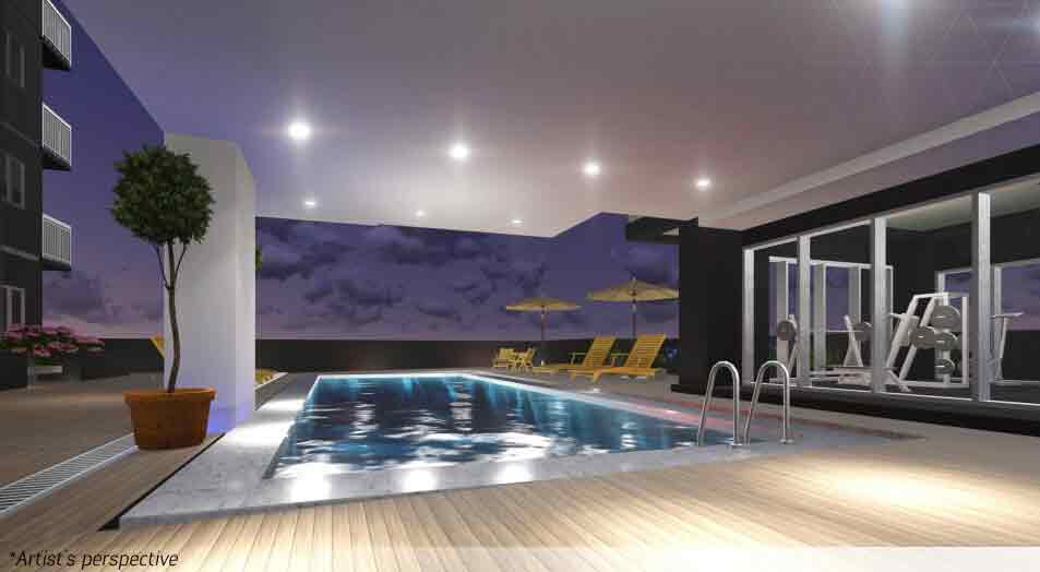 Pool Area / Amenity Floor