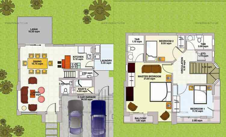 Bougainvillea Floor Plan