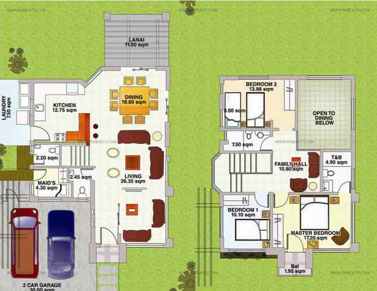 Chamomile Floor Plan