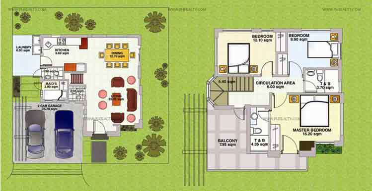 Amaryllis Floor Plan