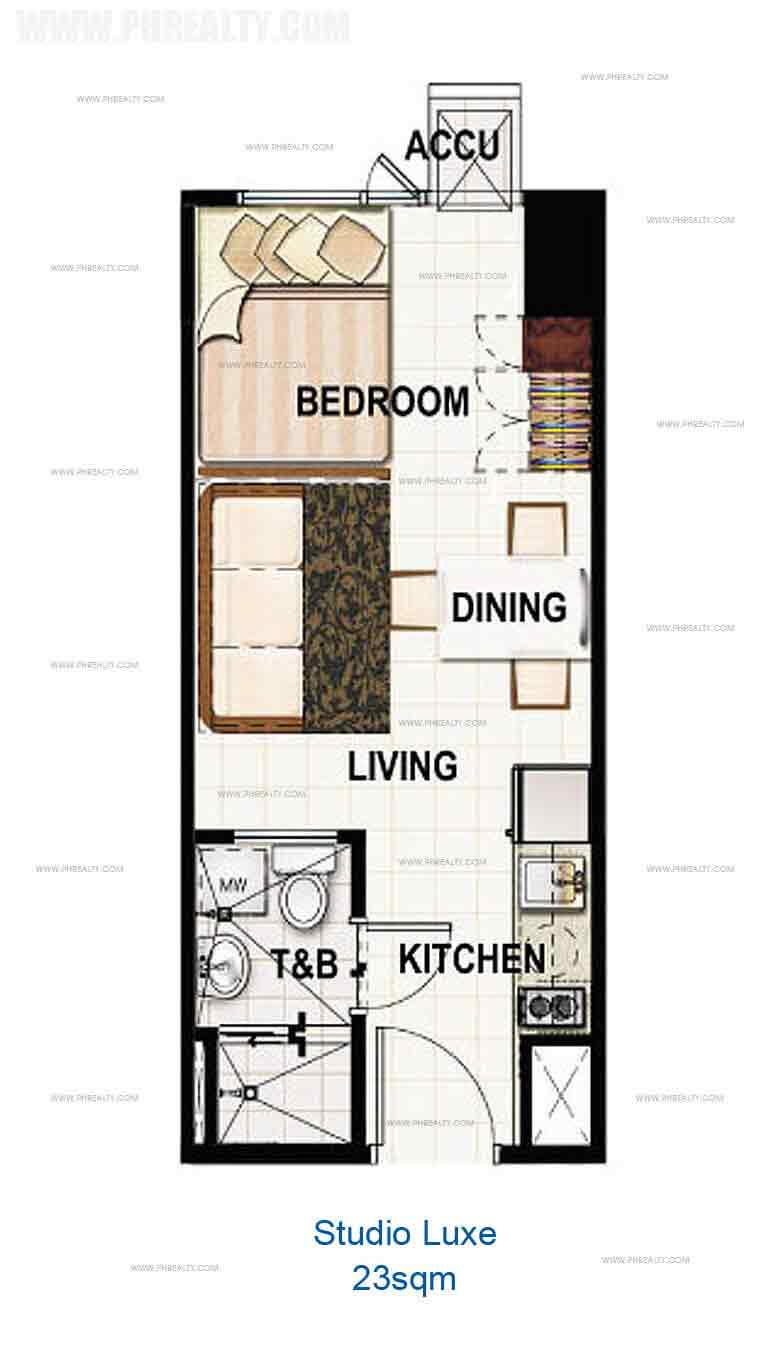 Studio Luxe 23 sqm