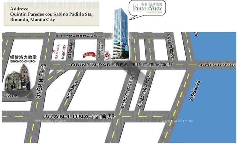 Princeview Parksuites Location