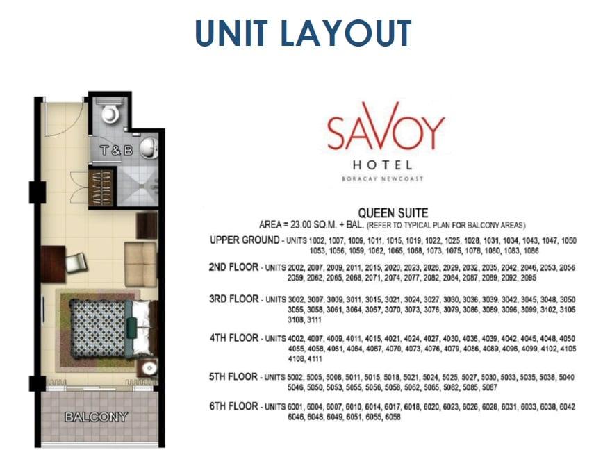 Queen Suite Unit