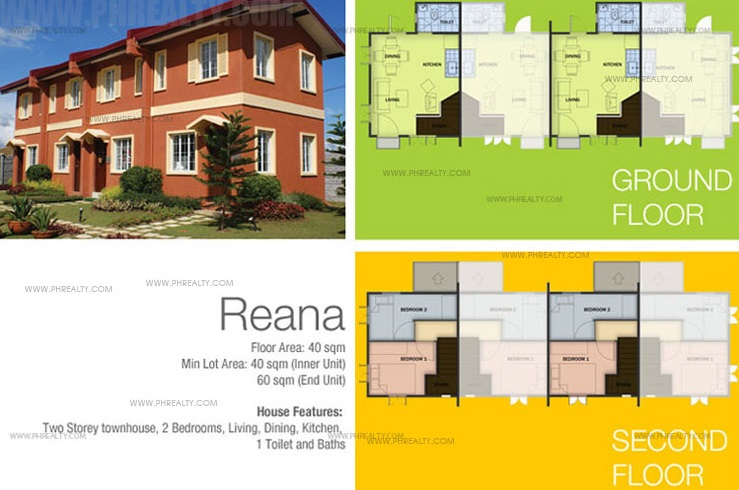 Reana Model House Features & Specifications