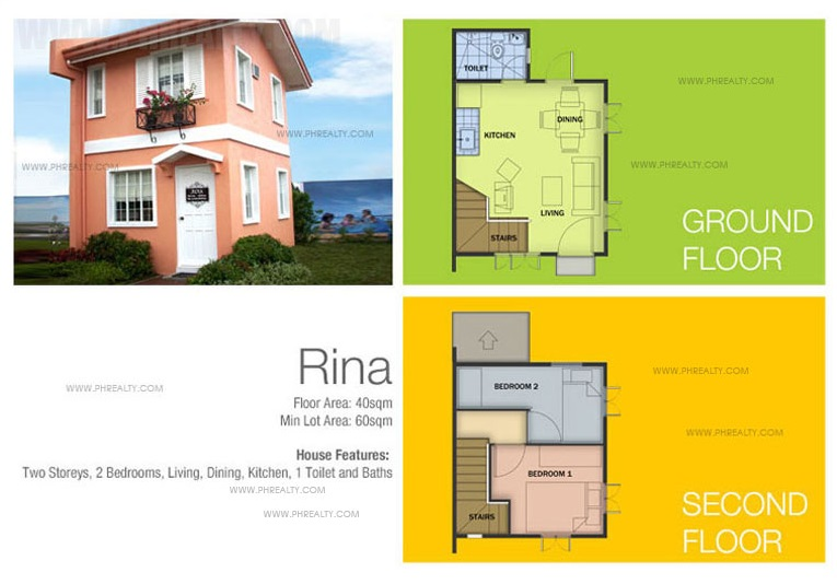 Rina House Floor Plan