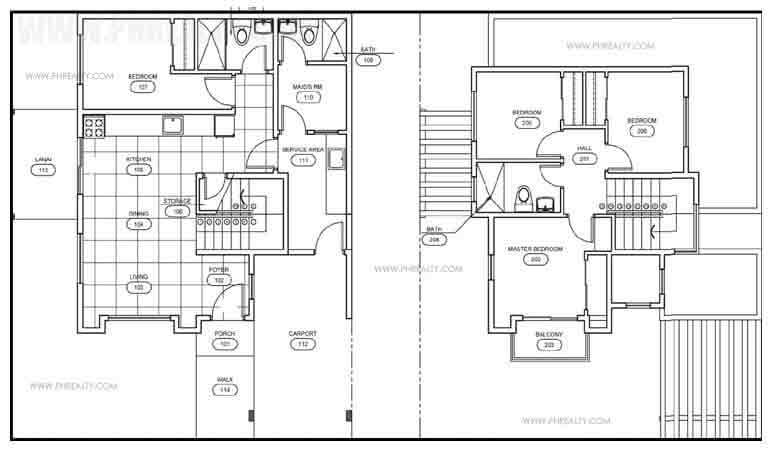 Julia Floor Plan