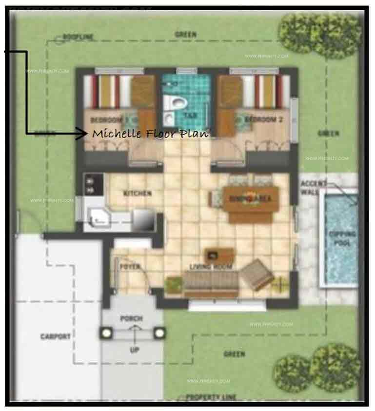 Michelle Floor Plan