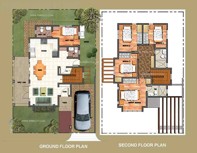Sophia Floor Plan