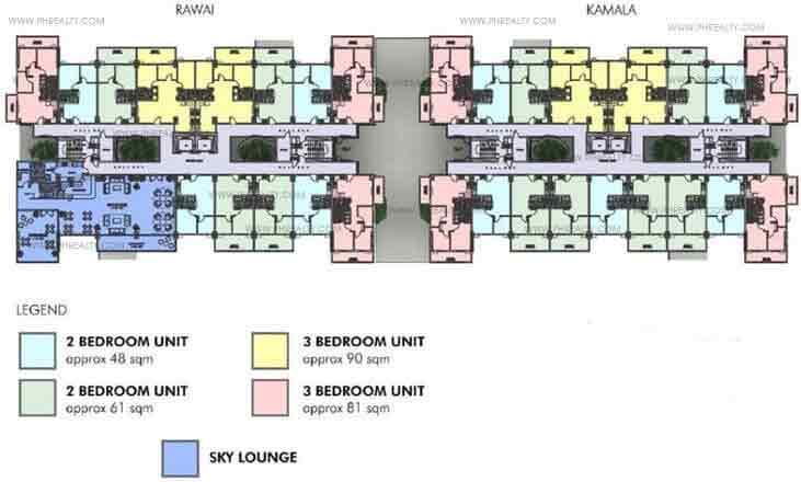Penthouse Building Floor Plan Kamala Building