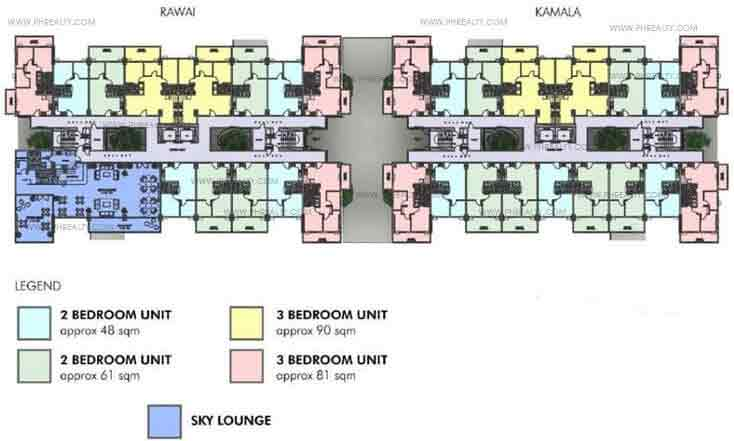 Penthouse Building Floor Plan Rawai Building