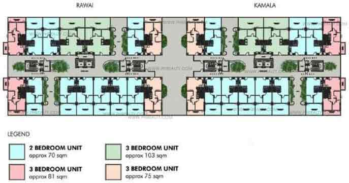 Typical 4th Floor Plan Kamala Building