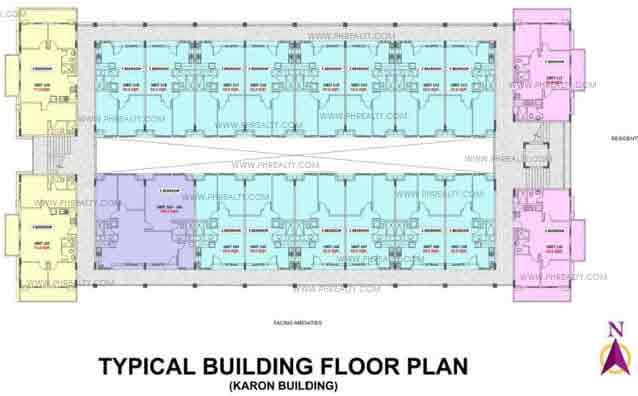 Typical Floor Plan Karon Building