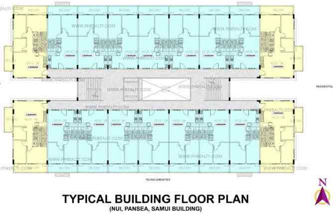 Typical Floor Plan Nui Building