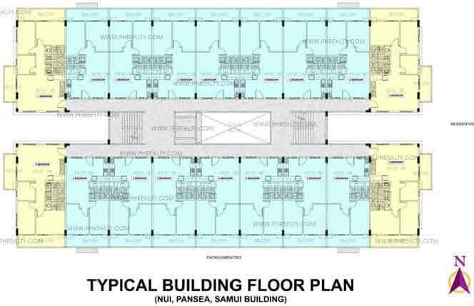 Typical Floor Plan Pansea Building