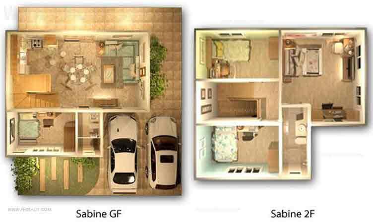 Sabine Floor Plan