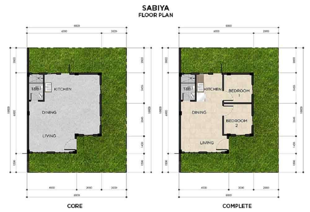 Sabiya Floor Plan