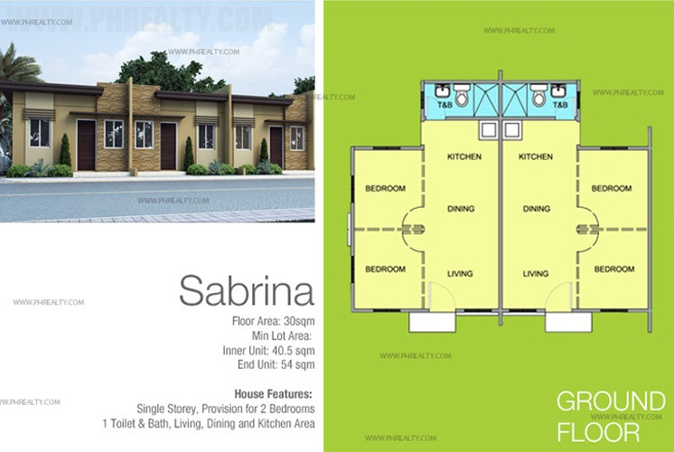 Sabrina House Floor Plan