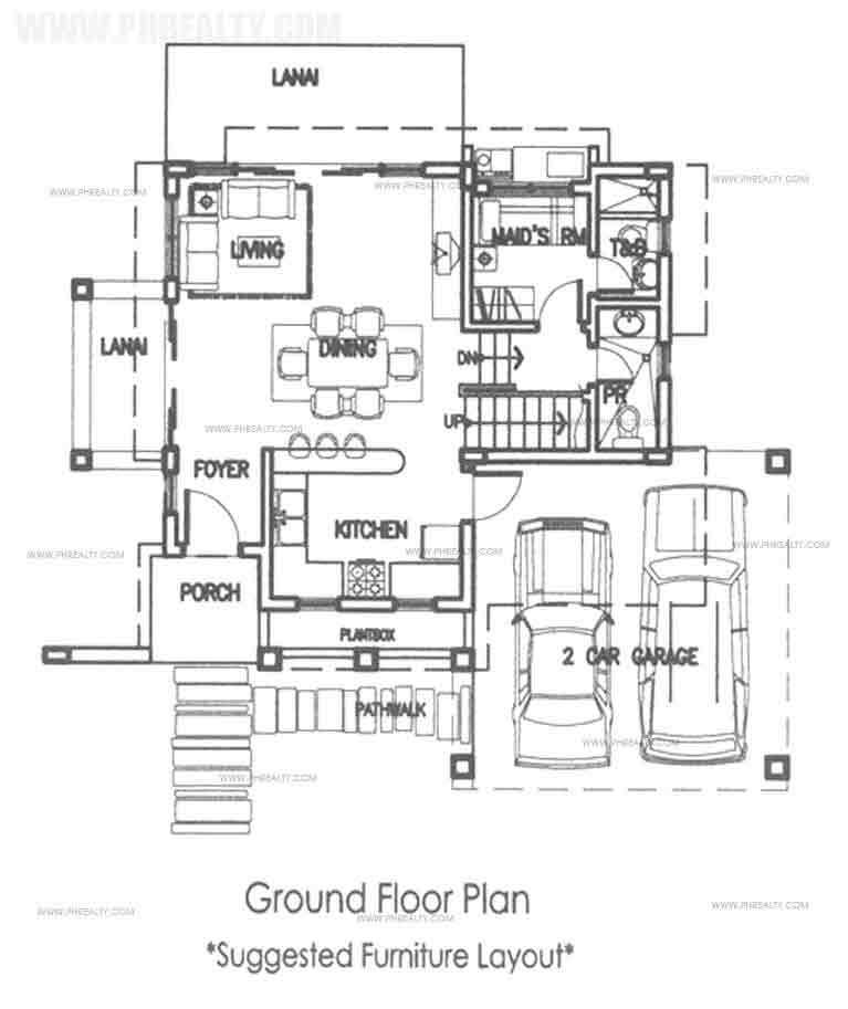 Sanur Ground Floor Plan