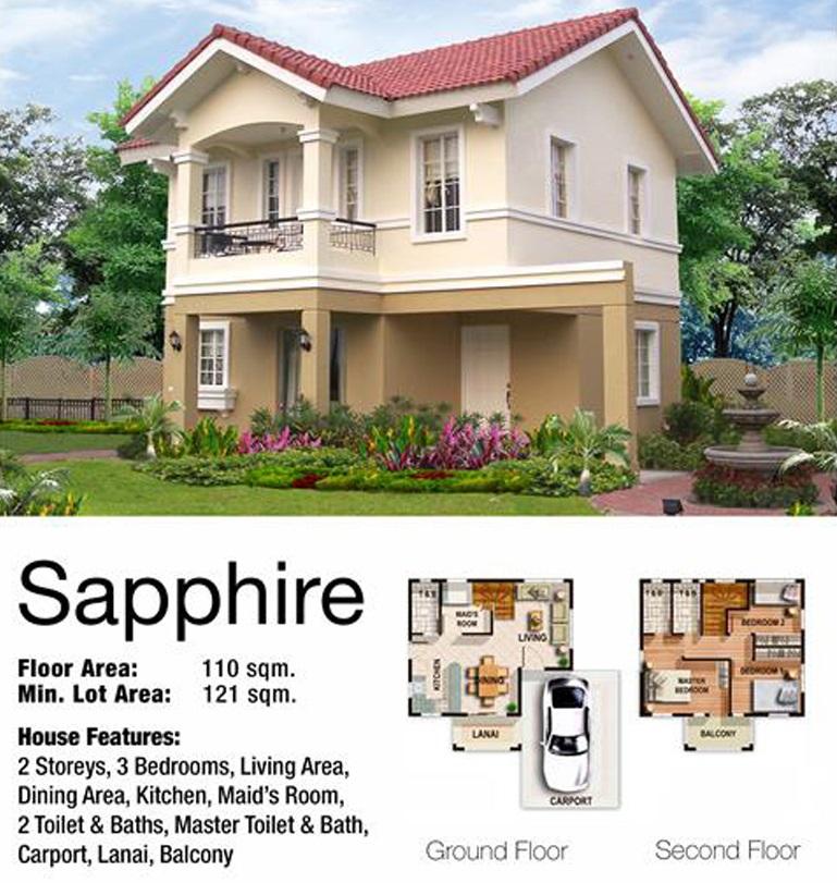 Sapphire Floor Plans