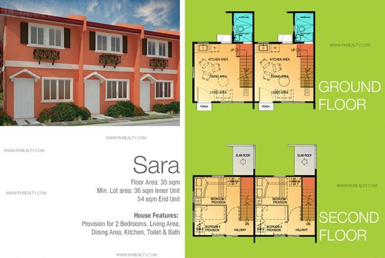 Sara House Floor Plan