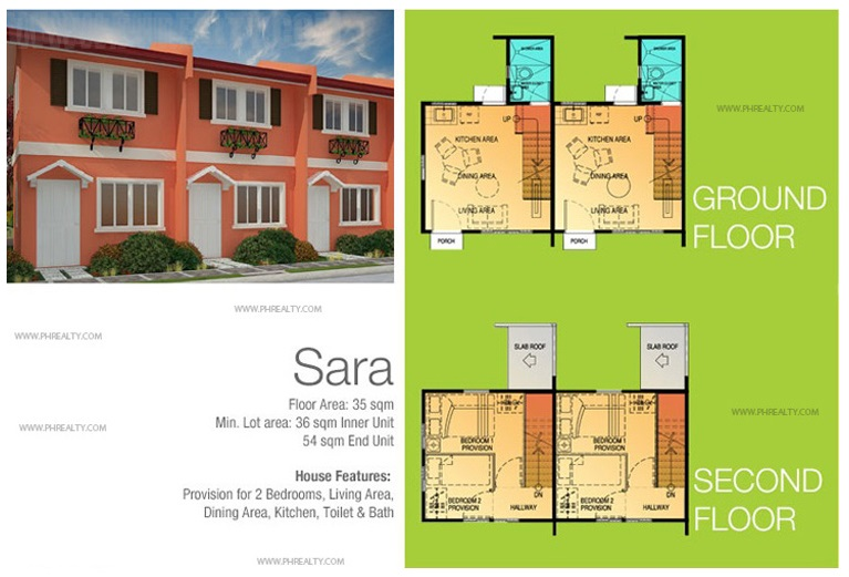 Sara House Floor Plan