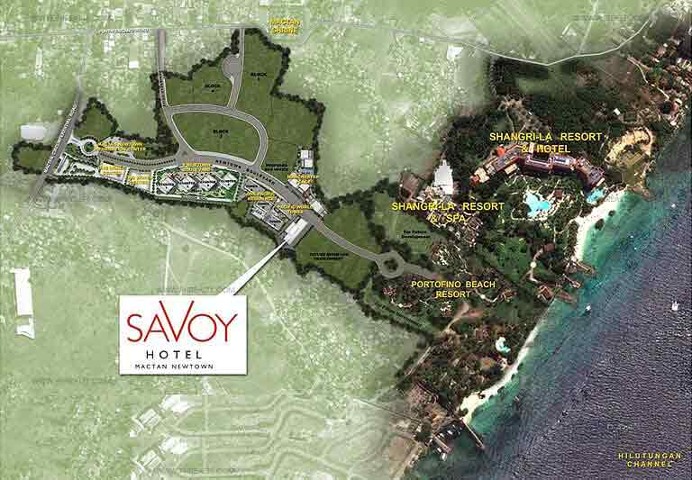 Savoy Hotel Location