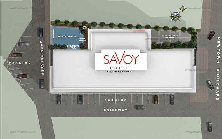 Savoy Hotel Site Development Plan