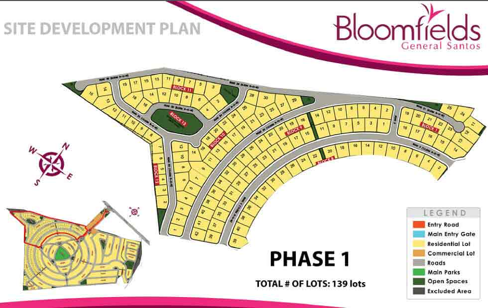 Site Development Plan - Phase 1