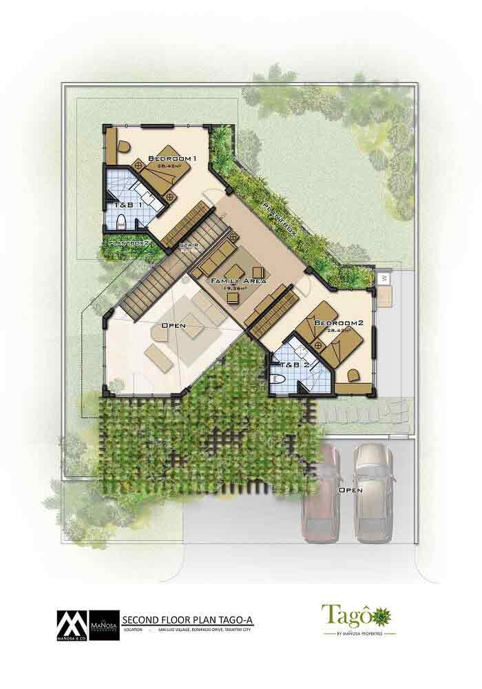 Second Floor Plan - Ara-al Home