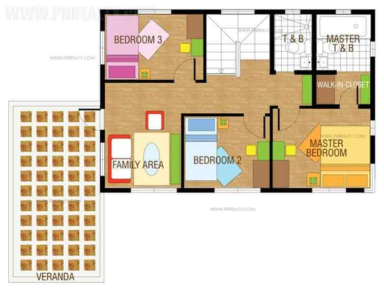 Amaya Second Floor Plan