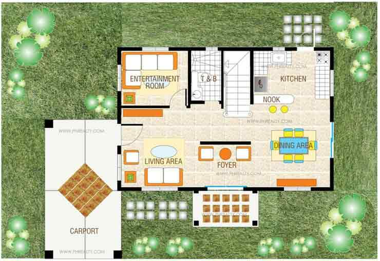 Amaya Ground Floor Plan
