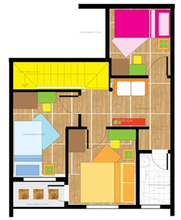 Azumi Second Floor Plan