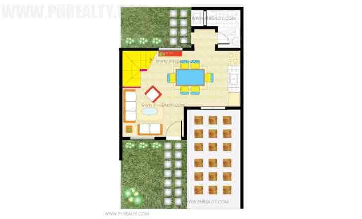 Azumi Ground Floor Plan