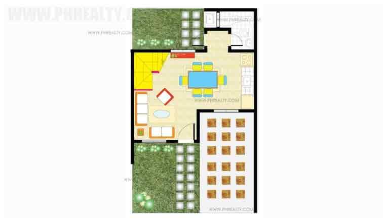 Kiara Ground Floor Plan