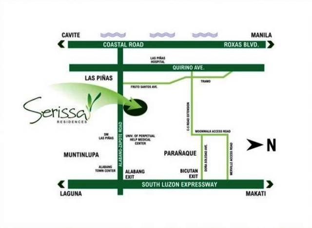 Serissa Residences Location