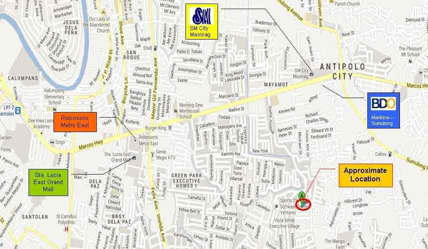 Serramonte Mansions Location