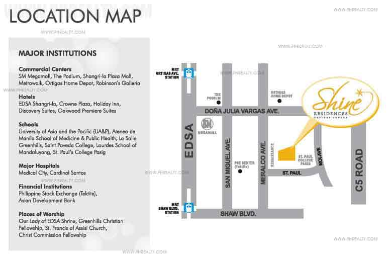 Shine Residences Location