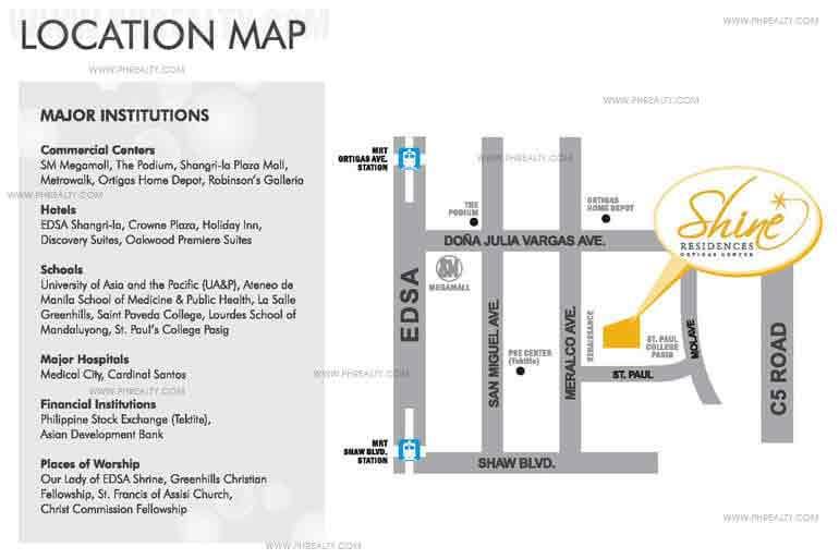Shine Residences Location