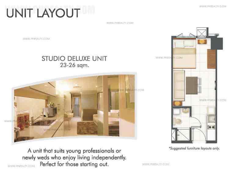 Studio Deluxe Unit
