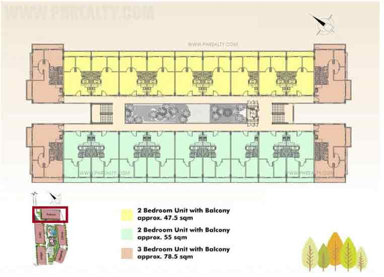 Typical Floor Plan- 2nd-5th