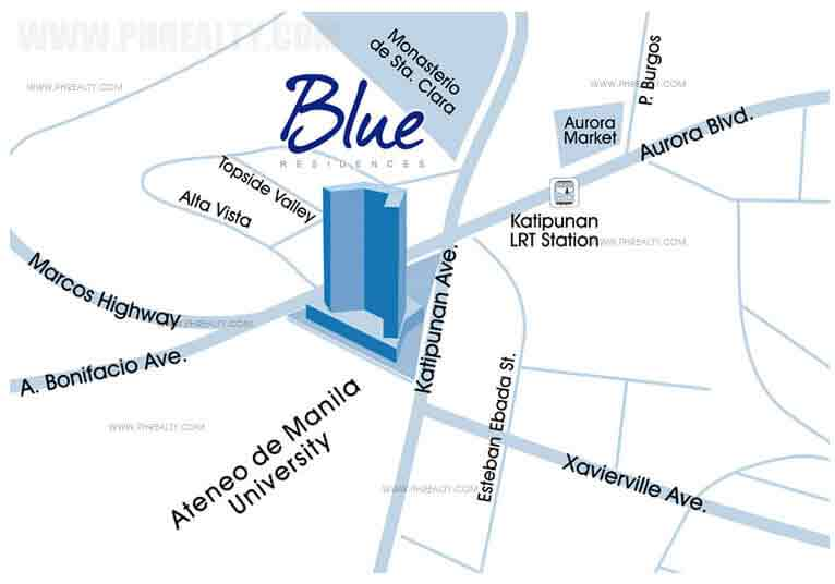 Blue Residences Location